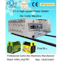 Buy cheap Automatic Carton Folding Machine / Corrugated Box Making Machines for Paperboard from Wholesalers