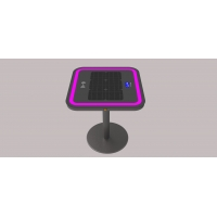 China Bluetooth Speaker 20Ah 30W LiFePO4 Solar Charging Coffee Table factory