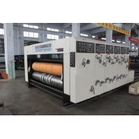 Quality Alloy Steel Die Cutting Corrugated Carton Box Making Machine And Stacker Machine for sale
