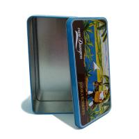 China A6 postcard collection tin box factory