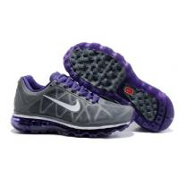 Buy cheap salenikeoutlet--Cheap Womens Nike Air Max 2011 Mesh Shoes Charcoal Purple White from wholesalers
