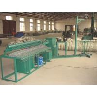 Buy cheap Semi Automatic Chain Link Fence Machine , Chain Link Making Machine Low Noise from Wholesalers