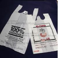 China BIO Carrier, t shirt bags, carry out bags, handy, handle bags, carrier bags, tesco, China factory