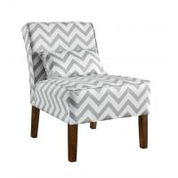 Buy cheap Patterned Upholstered Accent Chairs Tight Back , Low Back Living Room Chairs from Wholesalers