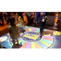 China Indoor Augmented Reality Games , Interactive Floor Projector For Entertainment factory