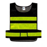 China Fluorescent Vest for Traffic controller Sanitation worker Safety Reflective Apparel factory