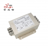 China Three Wire Multi Stage 1450VDC 3 Phase EMI Filter 10A 30MHZ factory