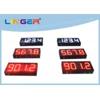 China 200mm Height Gas Station Led Signs , Led Fuel Price Signs Various Styles factory