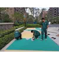 China High Safety Playground Rubber Flooring Excellent Elasticity 0.5-2mm,1-3mm,2-4mm factory