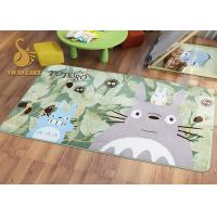 Buy cheap Short Plush Digital 3D Printed Non Slip Area Rugs For Bedroom / Living Room from Wholesalers