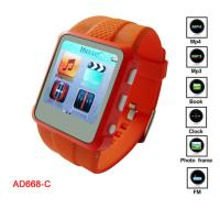 Buy cheap Promotion WMA, WAV, MP3 MP4 Player Watch With MIC Recording CE, FCC from wholesalers