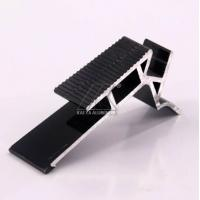 China Anodized Furniture Aluminium Profiles Recyclable For Ladder Black Plus LED factory