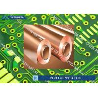 China 550mm - 1295mm Width ED Copper Foil for Printed Circuit Board factory
