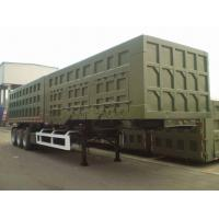 China 2014 Year Second Hand Semi Trailers With 3 Axles And 12 Pieces Tires on sale