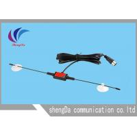 Buy cheap Portable Horn Digital Broadcast TV Antenna  , UHF VHF Outdoor TV Antenna 3M Sticker from Wholesalers