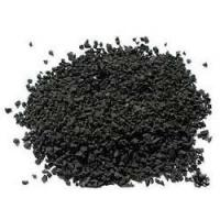 China Durable Black Colored Rubber Granules For Playground Abrasive Resistance factory