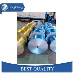 China Coloured Aluminium Foil Packaging Hydrophilic 8011-H22 Customized Diameter factory