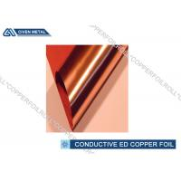 China Electronic Conductive Copper Foil 9 Mic - 12 Mic For li-ion Battery factory