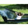 Buy cheap Backyard Patio Black Hand Woven Mayan Hammock , Non Spreader Bar Woven Rope from wholesalers