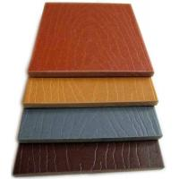 Buy cheap Anti - UV / Weather Resist Composite Fence Panels For Gardern Furniture from Wholesalers