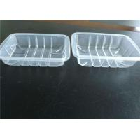 China Stackable Disposable PP Food Tray Packaging For Fruits And Vegetables on sale