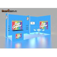 China Foldable Portable Trade Show Booth 3x6m Aluminum Trade Show Booth Set Up on sale