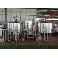China 2000L Craft Beer Brewing Equipment factory