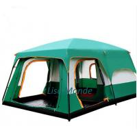 The Lise Monde outdoor 6/7/8/9/10-12 people camping tent outing two bedroom tent big space high quality camping tent