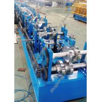 Buy cheap Custom Steel Frame Purlin Roll Forming Machine 18.5KW Driving Motor from Wholesalers