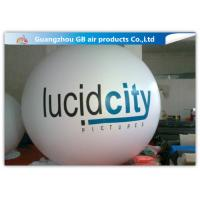 China White Round Inflatable Helium Balloons Ball Customized Size CE UL factory