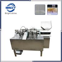 China AFS-4 1ml ampoule fill seal machine with PLC control + Peristaltic pump filling system factory