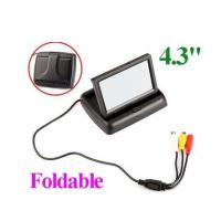 """China 4.3"""" Foldable TFT Color LCD Car Reverse Rearview car monitor factory"""