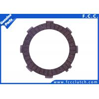 Buy cheap FCC Motorcycle Clutch Friction Plate Honda CG125 CG150 143-C6G02-00 from Wholesalers