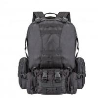 55L Multi Function Sport Tactical Day Pack Water Resistant Camouflage For Hiking Camping