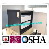 China Metal Fire Resistant File Cabinet For Anti Magnetic , Magnetic Proof Safety Cabinets factory