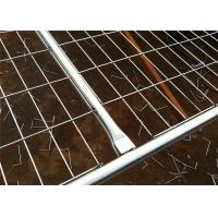 Buy cheap Portable Barriers Fencing Construction Fence Panels Corrosion Proof AS4687-2007 from Wholesalers