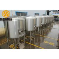 Three Vessels Commercial Beer Making Equipment 40HL 380 V Power Supply