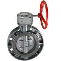 Buy cheap Worm actuated wafer type butterfly valve from Wholesalers