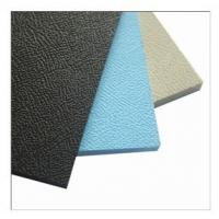 China Extruded PP plastic sheet(emdossed surface) factory