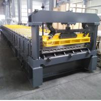 Buy cheap Raw Material Coil Width 1220mm Cold Roll Forming Equipment Mitsubishi PLC Roll Former from Wholesalers