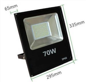 China 70W flood light led outdoor lighting IP66 warm white high lumen slim aluminum housing factory