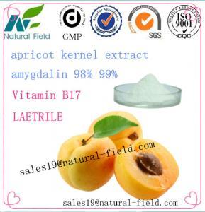 China amygdalin extract 5% 50% 80% 98% 99% factory