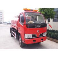 Buy cheap 4x2 4000 Litres Water Tanker Fire Truck 2 Axles For Fire Fighting / Emergency Rescue from Wholesalers