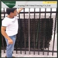 China Antique Wrought Iron Fence Panels , Wrought Iron Privacy Fence Aging - Resistant on sale