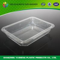 China Plastic Food Tray , Plastic Catering Trays  For Bakery on sale