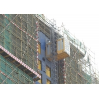 China Rack And Pinion Modular 30kw Construction Site Lift factory