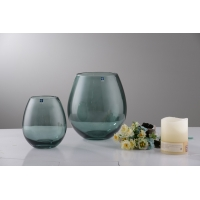 China handmade OEM Glass Vase for home use factory