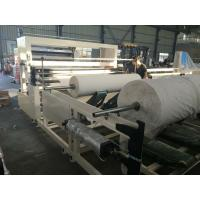 Buy cheap Napkin Paper Roll Rewinding Machine With Slitting Action Powerful Feature from Wholesalers