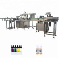 China PLC Control Automatic Bottle Filling Machine For Essential Oil Cigarette factory