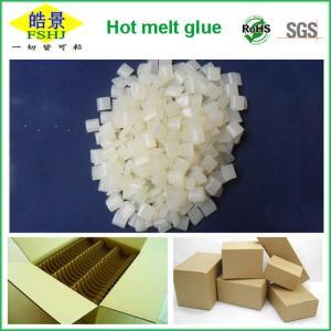 White Granule Hot Melt Adhesive Glue For Carton Box Packaging Sealing